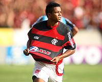 20091206: RIO DE JANEIRO, BRAZIL - Flamengo vs Gremio: Brazilian League 2009 - Flamengo won 2-1 and celebrated the 6th Brazilian Championship of its history. In picture: David (Flamengo) celebrating goal. PHOTO: CITYFILES
