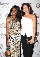 Sinitta, Lauren Silverman, London Lifestyle Awards, Lancaster London Hotel UK, 03 October 2016, Photo by Richard Goldschmidt