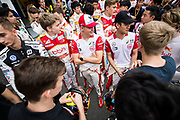 Marcus ARMSTRONG, ITA, SJM Theodore Racing by PREMA Dallara-Mercedes , Mick SCHUMACHER, GER, SJM Theodore Racing by PREMA Dallara-Mercedes, Robert SHVARTZMAN, RUS, SJM Theodore Racing by PREMA Dallara-Mercedes, Callum ILOTT, GBR, Carlin Dallara-Volkswagen <br /> <br /> 65th Macau Grand Prix. 14-18.11.2018.<br /> Suncity Group Formula 3 Macau Grand Prix - FIA F3 World Cup<br /> Macau Copyright Free Image for editorial use only