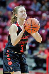 NORMAL, IL - October 12: Mary Crompton during Illinois State Athletics Hoopfest on October 12 2018 at Redbird Arena in Normal, IL. (Photo by Alan Look)