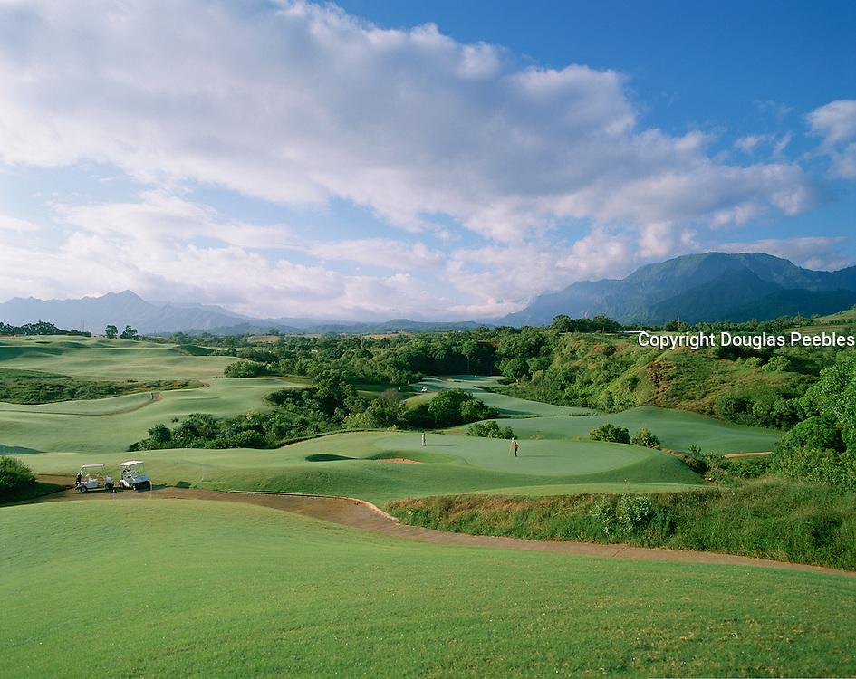 golf, Princeville, Kauai, Hawaii, USA<br />