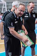 DESCRIZIONE : 3° Torneo Internazionale Geovillage Olbia Sidigas Scandone Avellino - Darussafaka Dogus Istanbul<br /> GIOCATORE : Stefano Sacripanti<br /> CATEGORIA : Allenatore Coach Time Out<br /> SQUADRA : Sidigas Scandone Avellino<br /> EVENTO : 3° Torneo Internazionale Geovillage Olbia<br /> GARA : 3° Torneo Internazionale Geovillage Olbia Sidigas Scandone Avellino - Darussafaka Dogus Istanbul<br /> DATA : 06/09/2015<br /> SPORT : Pallacanestro <br /> AUTORE : Agenzia Ciamillo-Castoria/L.Canu