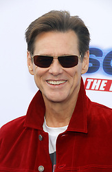 Jim Carrey at the Los Angeles premiere of 'Sonic the Hedgehog' held at Paramount Theatre in Los Angeles, USA on January 25, 2020.