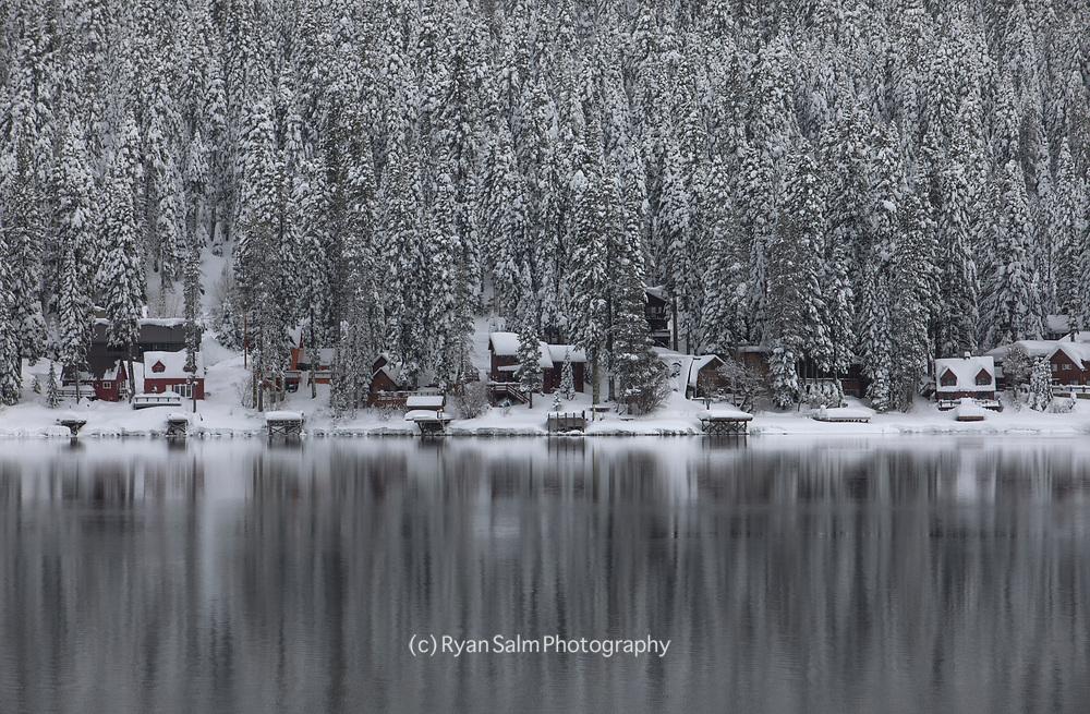 Donner Lake Winter