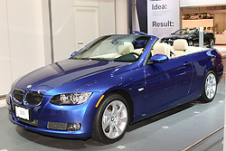 08 February 2007: 2007 BMW 335i Convertible. The Chicago Auto Show is a charity event of the Chicago Automobile Trade Association (CATA) and is held annually at McCormick Place in Chicago Illinois.