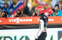 Winner Markus Eisenbichler (GER) celebrates during the 2nd Round of the Ski Flying Hill Individual Competition at Day 2 of FIS Ski Jumping World Cup Final 2019, on March 22, 2019 in Planica, Slovenia. Photo by Vid Ponikvar / Sportida