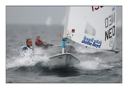 Marit Bouwmeester, NED 192285..Opening races in breezy conditions for the Laser Radial World Championships, taking place at Largs, Scotland GBR. ..118 Women from 35 different nations compete in the Olympic Women's Laser Radial fleet and 104 Men from 30 different nations. .All three 2008 Women's Laser Radial Olympic Medallists are competing. .The Laser Radial World Championships take place every year. This is the first time they have been held in Scotland and are part of the initiaitve to bring key world class events to Britain in the lead up to the 2012 Olympic Games. .The Laser is the world's most popular singlehanded sailing dinghy and is sailed and raced worldwide. ..Further media information from .laserworlds@gmail.com.event press officer mobile +44 7775 671973  and +44 1475 675129 .