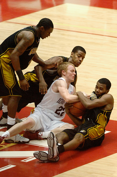 Missouri v. Iowa State at the Hilton Arena in Ames, Iowa. The Tigers defeated the Cyclones 82-68.