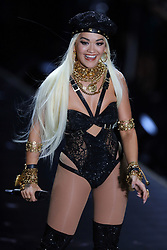 November 8, 2018 - New York, New York, United States - Rita Ora walks in the 2018 Victoria's Secret runway show at Pier 94 on November 8 2018 in New York City  (Credit Image: © Philip Vaughan/Ace Pictures via ZUMA Press)
