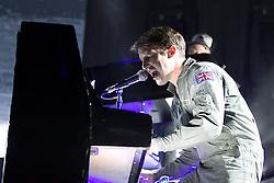 18.10.2014, Rothaus Arena, Freiburg, GER, James Blunt, Tour Moon Landing 2014, im Bild James Blunt // during a Concert from the Moon Landing Tour at the Rothaus Arena in Freiburg, Germany on 2014/10/18. EXPA Pictures © 2014, PhotoCredit: EXPA/ Eibner-Pressefoto/ Fleig<br /> <br /> *****ATTENTION - OUT of GER*****