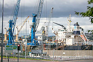 Port of Cork Cranes at Ringaskiddy