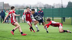 Nathan Brooks (Hartpury College) of Bristol Rugby Academy U18 - Mandatory by-line: Paul Knight/JMP - 11/02/2017 - RUGBY - SGS Wise Campus - Bristol, England - Bristol Academy v Gloucester Academy - Premiership Rugby Academy U18 League