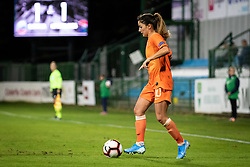 Daniëlle van de Donk of Nederland  during football match between Slovenia and Nederland in qualifying Round of Woman's qualifying for EURO 2021, on October 5, 2019 in Mestni stadion Fazanerija, Murska Sobota, Slovenia. Photo by Blaž Weindorfer / Sportida