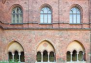 Cloister of the Dome Cathedral, Riga, Latvia © Rudolf Abraham