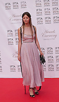 Actress Mia Goth at the IFTA Film & Drama Awards (The Irish Film & Television Academy) at the Mansion House in Dublin, Ireland, Saturday 9th April 2016. Photographer: Doreen Kennedy