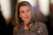 Princess Letizia Ortiz in the Opening of ARCO Art Fair in Madrid