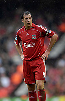 Photo: Jed Wee/Sportsbeat Images.<br /> Liverpool v Charlton Athletic. The Barclays Premiership. 13/05/2007.<br /> <br /> Liverpool's Robbie Fowler makes his last appearance at Anfield.