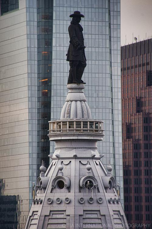 Statue of William Penn, City Hall
