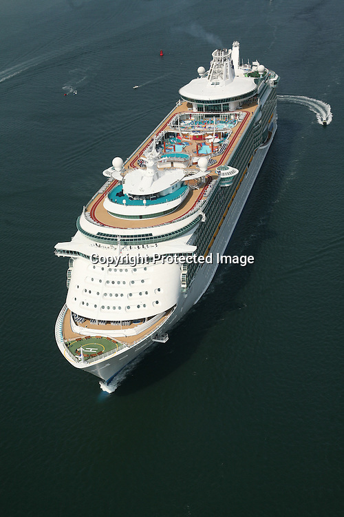 Liberty of the Seas Arrives in Southampton.