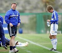 Fotball<br /> La Manga 2006<br /> 27.03.2006<br /> Sparta Sarpsborg v Manglerud Star 2-3<br /> Foto: Morten Olsen, Digitalsport<br /> <br /> Kai Andersen - trener Sparta