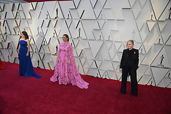 February 24, 2019 - Los Angeles, California, U.S - TINA FEY, MYA RUDOLPH AND AMY POHLER during red carpet arrivals for the 91st Academy Awards, presented by the Academy of Motion Picture Arts and Sciences (AMPAS), at the Dolby Theatre in Hollywood. (Credit Image: © Kevin Sullivan via ZUMA Wire)