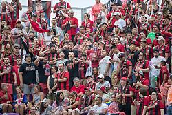 May 13, 2018 - Orlando, FL, U.S. - ORLANDO, FL - MAY 13: Atlanta United fans during the soccer match between the Orlando City Lions and Atlanta United on May 13, 2018 at Orlando City Stadium in Orlando, FL. (Photo by Joe Petro/Icon Sportswire) (Credit Image: © Joe Petro/Icon SMI via ZUMA Press)