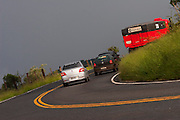 BR120_MG, Brasil...Trafego na BR120 em um dia chuvoso em Minas Gerais...The traffic on BR120 in the rainy day in Minas Gerais...Foto: BRUNO MAGALHAES / NITRO