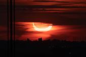 2021-06-10-DJ Sunrise Annular Eclipse at George Washington Bridge