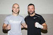 Boxen: Hamburg, 08.12.2020<br /> Sasha Alexander (l.) und Edi Kadrija (beide Boxen im Norden) <br /> © Torsten Helmke