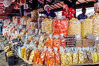 West Sumatra, Bukittinggi. Krupuk or kerupuk are crackers made from starch and other ingredients that usually give the taste. A local variant of crackers, Karupuak sanjai, is very popular in Bukittinggi.
