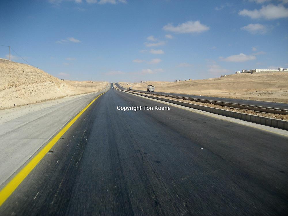 road in Jordan