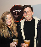 Sarah Burke Magnify and Adrian McCann Westport at The Jameson The Black Barrel Craft Series  at Old printing works, Market Street with music by Corner boy.  Photo:Andrew Downes