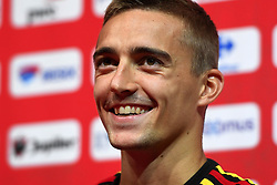 September 5, 2018 - Tubize, BELGIQUE - TUBIZE, BELGIUM - SEPTEMBER 5 : Timothy Castagne defender of Belgium pictured during a press conference prior to the friendly match against Scotland and Nations League match against Iceland at the Belgian Football Center on September 05, 2018 in Tubize, Belgium, 5/09/2018 (Credit Image: © Panoramic via ZUMA Press)