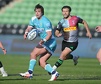 Rugby Union - 2020 / 2021 Gallagher Premiership - Round 16 - Harlequins vs Worcester Warriors - The Stoop<br /> <br /> Francois Venter of Worcester Warriors<br /> <br /> Credit : COLORSPORT/ANDREW COWIE