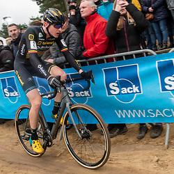 2020-02-08 Cycling: dvv verzekeringen trofee: Lille:Toon Aerts in the Sands