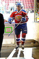 KELOWNA, CANADA, FEBRUARY 15: The Edmonton Oil Kings visit  the Kelowna Rockets on February 15, 2012 at Prospera Place in Kelowna, British Columbia, Canada (Photo by Marissa Baecker/Shoot the Breeze) *** Local Caption ***