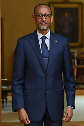 June 5, 2018 - Brussels, BELGIUM - Rwanda President Paul Kagame pictured at a meeting with the Belgian King, Tuesday 05 June 2018, at the Royal Palace in Brussels...BELGA PHOTO POOL FREDERIC SIERAKOWSKI (Credit Image: © Pool Frederic Sierakowski/Belga via ZUMA Press)