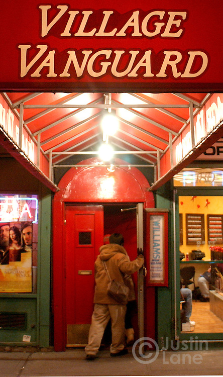 A view of the outside of the Village Vanguard in New York City.<br /> JUSTIN LANE FOR THE DETROIT FREE PRESS