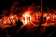 Images from Up Helly AA Torch Parade 2014.