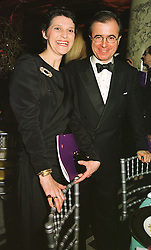 PRINCESS MINNIE DE BEAUVAU and MR MAXI GAINZA, at a ball in London on 12th March 1999.MPH 69
