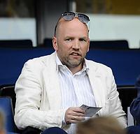 Fotball<br /> 2 juni 2010<br /> Landskamp<br /> Norge - Ukraina<br /> Brynjar Meling på tribunen<br /> Foto : Reidar Talset , Digitalsport