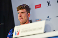 Peter Burling of Emirates Team New Zealand during the 35th America's Cup 2017 Press Conference on June 24, 2017 in Hamilton, Bermuda - Photo Christophe Favreau / ProSportsImages / DPPI