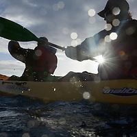 Kayaking to Kaneohe Sandbar at sunrise
