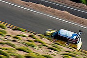 June 26-30 - Pikes Peak Colorado. John Edwards-Parton runs his car during practice for the 91st running of the Pikes Peak Hill Climb.