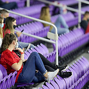 ORLANDO, FL - JANUARY 22:  Fans wearing face masks social distance in the stands of the Colombia versus United States soccer match at Exploria Stadium on January 22, 2021 in Orlando, Florida. (Photo by Alex Menendez/Getty Images) *** Local Caption ***