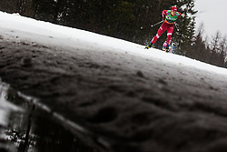 Andrey Krasnov (RUS) during the Ladies sprint free race at FIS Cross Country World Cup Planica 2019, on December 21, 2019 at Planica, Slovenia. Photo By Peter Podobnik / Sportida