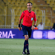 Referee Manuel De Sousa during their UEFA Champions league third qualifying round first leg soccer match Fenerbahce between Shakhtar Donetsk at the Sukru Saracaoglu stadium in Istanbul Turkey on Tuesday 28 July 2015. Photo by Aykut AKICI/TURKPIX