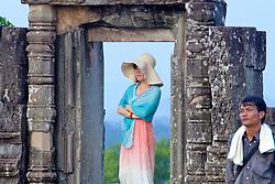 Woman In Doorway Phnom Bakheng