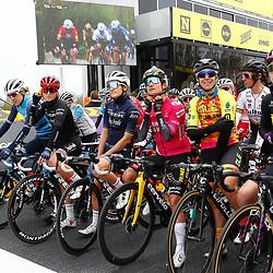 04-04-2021: Wielrennen: Ronde van Vlaanderen (Vrouwen): Oudenaarde Marianne Vos starts as leader in the womens worldtour