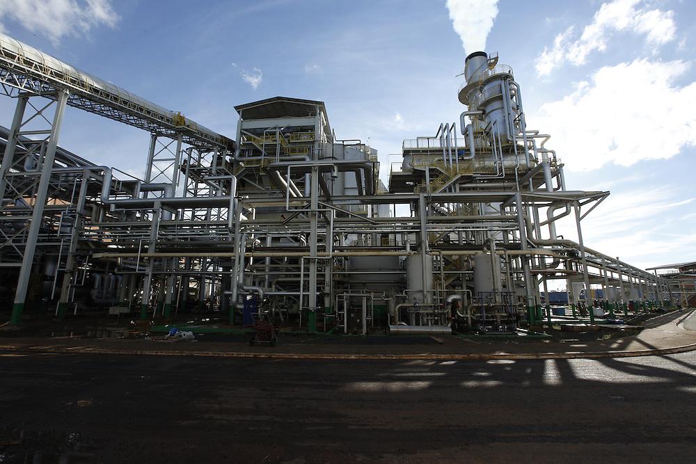 Uberaba_MG, Brasil.<br /> <br /> Usina de Alcool e Acucar  Vale do Tijuco em Uberaba, Minas Gerais.<br /> <br /> Vale do Tijuco Alcohol and Sugar plant in Uberaba, Minas Gerais.<br /> <br /> Foto: LEO DRUMOND / NITRO